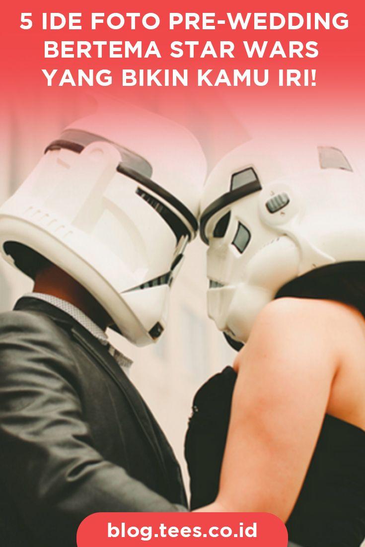 Star Wars Theme Pre-Wedding Photography | Click http://blog.tees.co.id/5-ide-foto-pre-wedding-bertema-star-wars/?utm_source=pinterest-social&utm_medium=post&utm_campaign=artikel #teesblog #starwars
