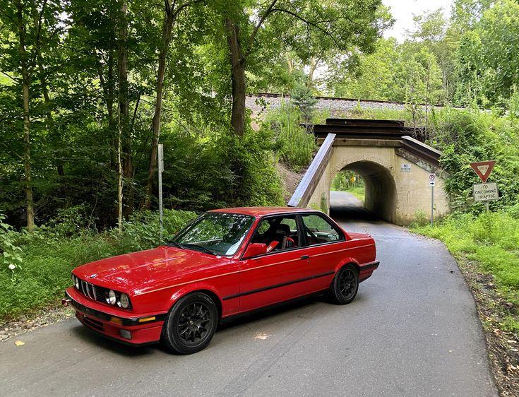 1988 325is At Bunny Man Bridge In 2020 Bmw Wagon Bmw Price Bmw