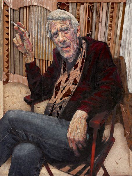 Noel Thurgate: Homage to Peter Powditch :: Archibald Prize 2017 :: Art Gallery NSW