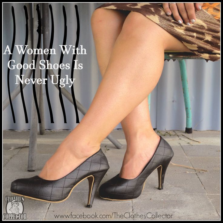 Good Shoes  www.facebook.com/TheClothesCollector
