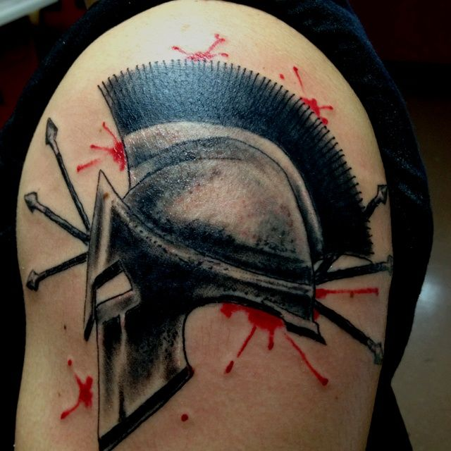 spartan helmet tattoo best 3d tattoo ideas pinterest spartan helmet tattoo helmet tattoo. Black Bedroom Furniture Sets. Home Design Ideas