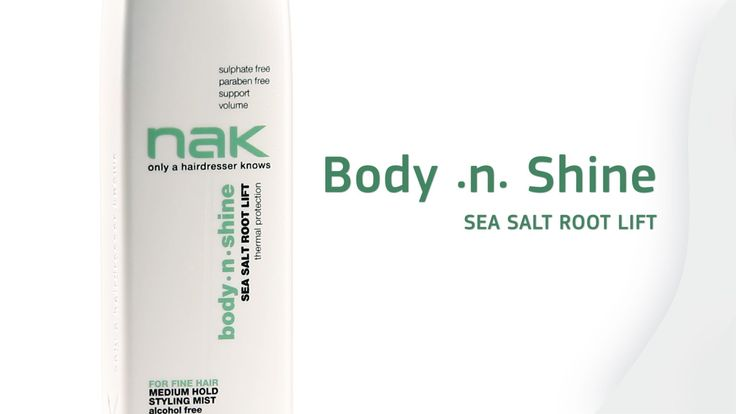 Body.n.Shine Sea Salt Root Lift #volume #body #hairstyles #hairtrends #rootlift #nakhair