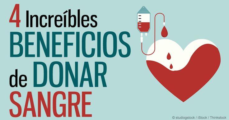 La donación de sangre ayuda a salvar vidas y también le ayuda a su sangre a fluir mejor.  http://articulos.mercola.com/sitios/articulos/archivo/2016/02/20/beneficios-de-donar-sangre.aspx
