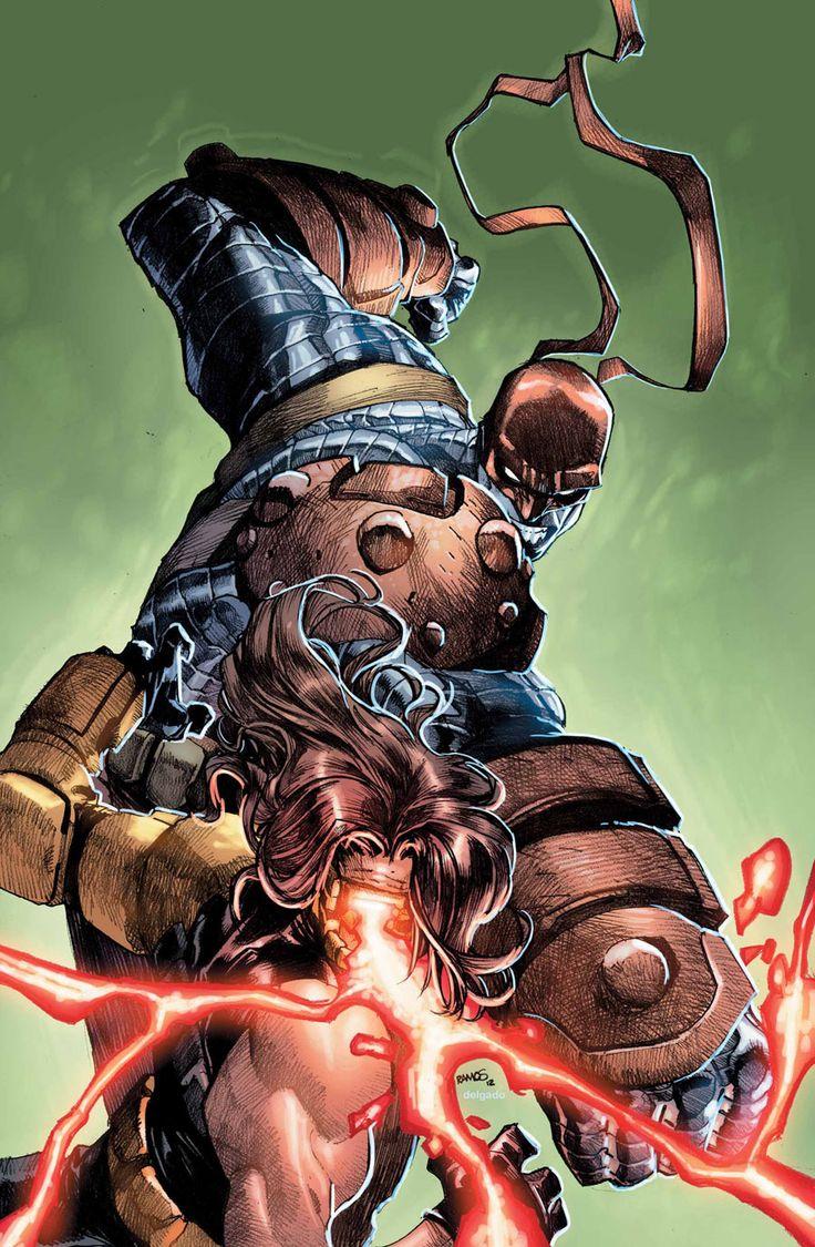 AoA Colossus Vs AoA Cyclops by Humberto Ramos