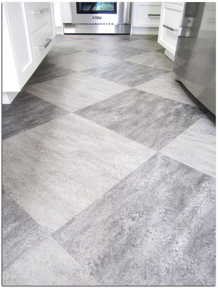 20+ Simple Laminate Flooring in Kitchen Ideas | Floor tile ...