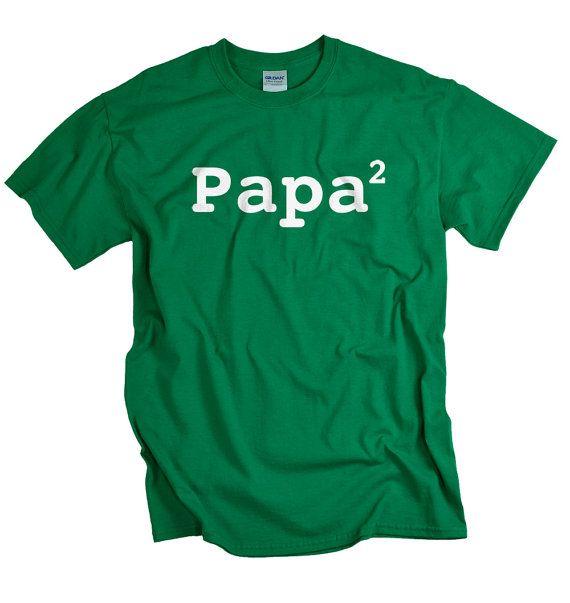 Papa shirt funny 2nd child new father tshirt two by UnicornTees