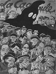Mouvement politique né après les émeutes du 6 février 1934. De son vrai nom CSAR ( C omité S ecret d' A ction R évolutionnaire), cette association secrète d'anciens royalistes et de ligueurs d'extrême-droite a été surnommée « La Cagoule » par la presse....