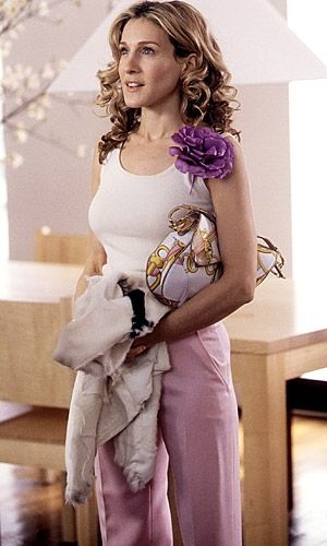 Purple Dress --- Sarah Jessica Parker - SATC - Carrie Bradshaw - Set