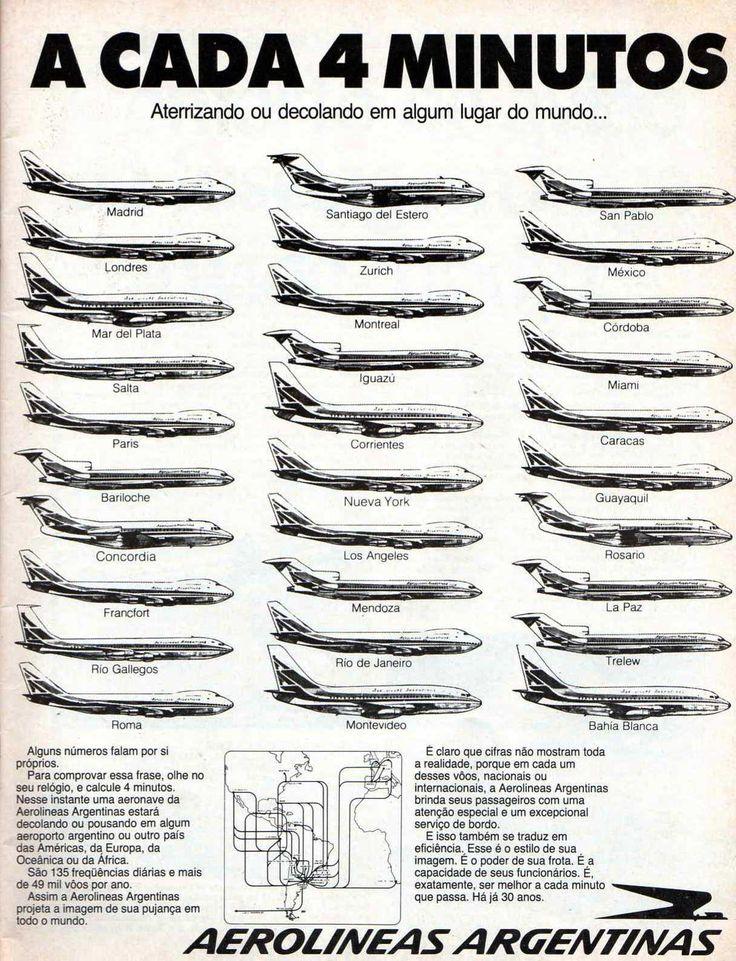 Aerolineas Argentinas Advert