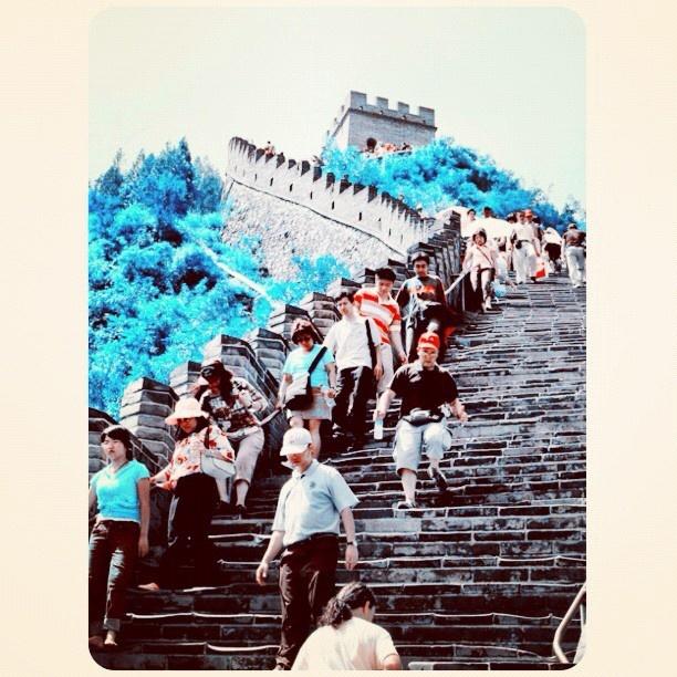 The Great Wall, China. @kenyokania-#statigram