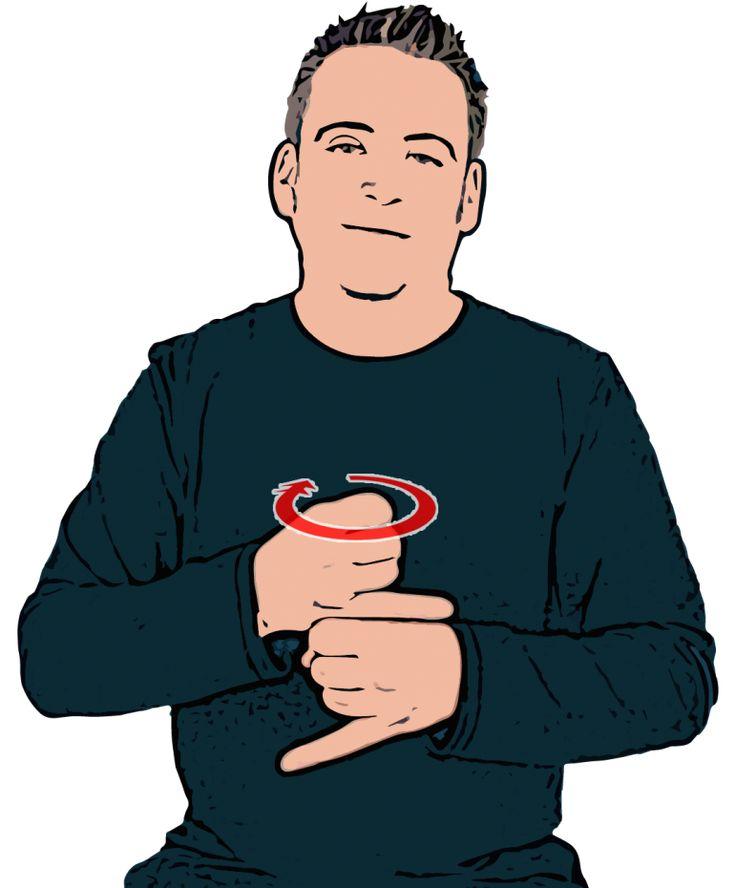 Grey - British Sign Language (BSL)