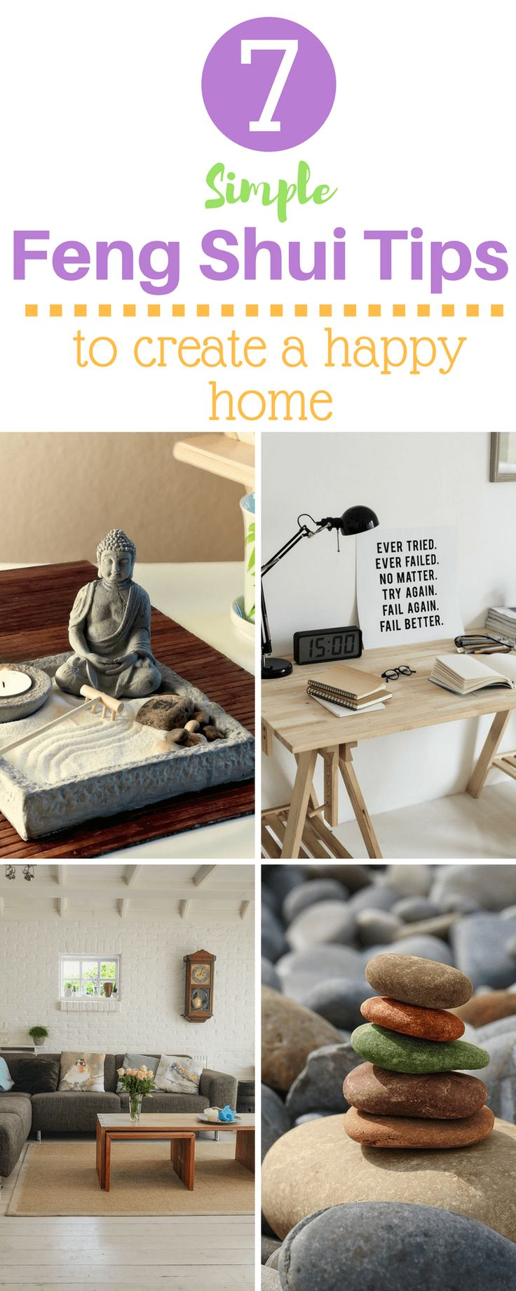 Easy Feng Shui Tips for Your Home #fengshui #homedecor #interiors
