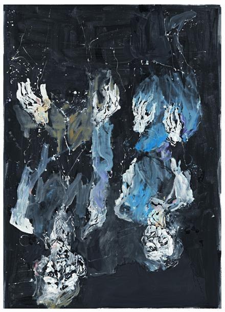 Artist Georg Baselitz (German: 1938) - Ahnenstunde (2012)