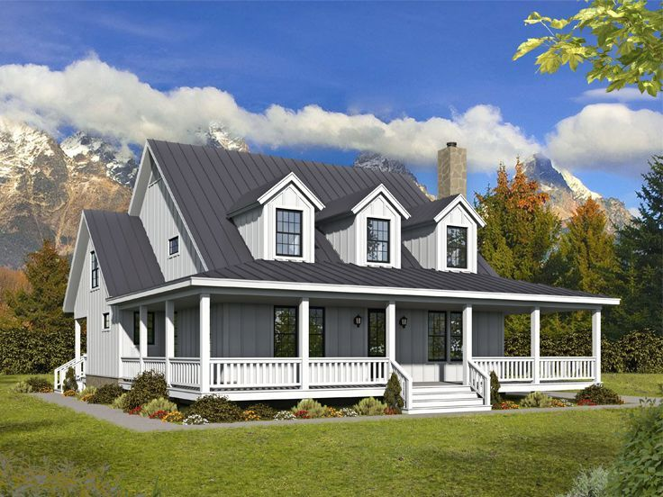 062h 0234 2 Story House Plan 2718 Sf Country House Plans Beach House Plans Country House Plan