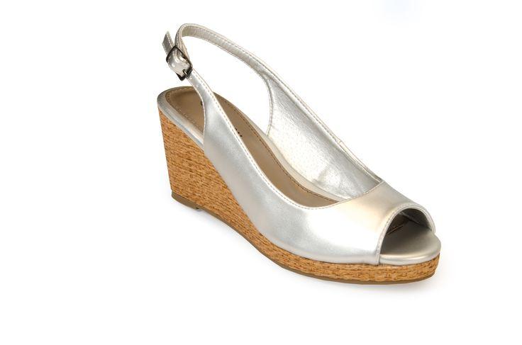 OAKLAND Silver R355.00 from www.madisonheartofnewyork.com follow us on Twitter @Madison Shoes SA