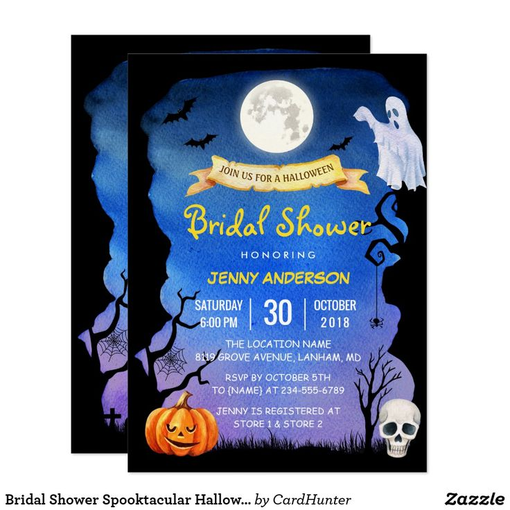 166 best halloween party invites images on pinterest invites bridal shower spooktacular halloween party invitation stopboris Gallery