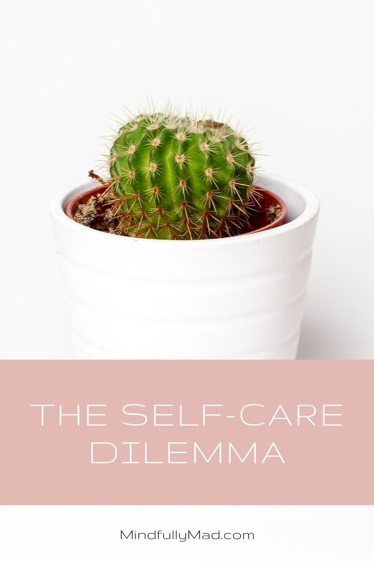 We love to tout the need for self-care but have no interest in other-care. Our b…