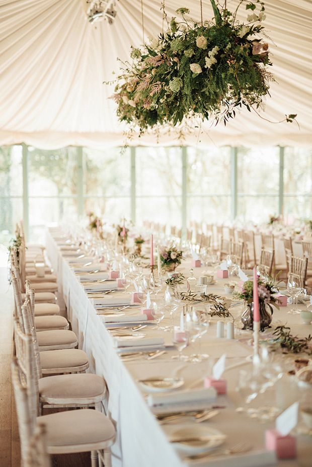 653 best reception decor images on pinterest reception a very vintage floral and pastel wedding at virginia park lodge ireland www junglespirit Image collections