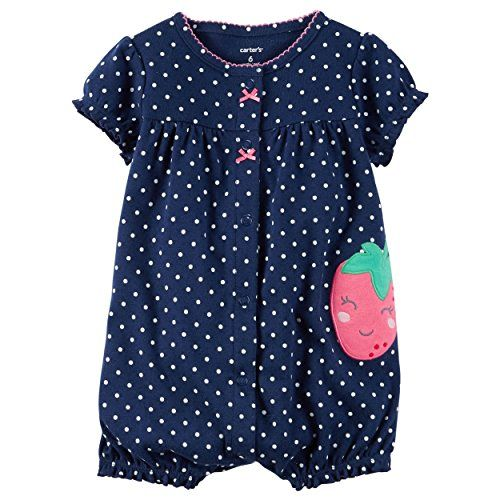 Baby Girl Clothes Carter's Baby Girls' Strawberry Creeper 6 Months