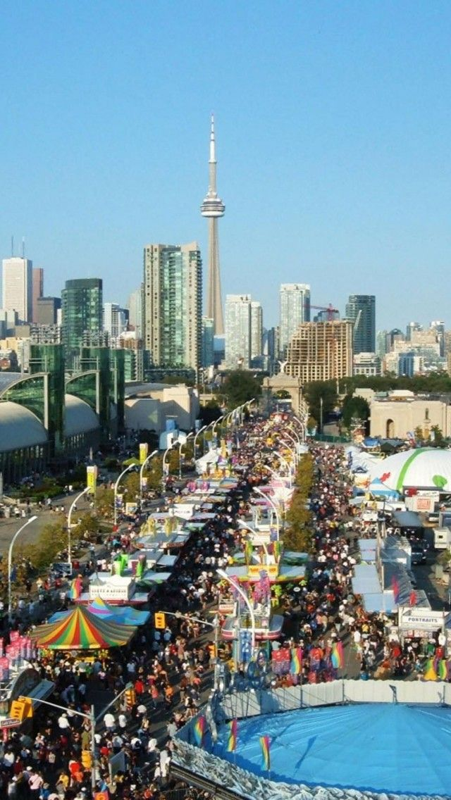 A must do in August! Canadian National Exhibition You can spend hours on the midway playing games of chance, the food buildings, the animal pavillions, flower pavillion not to mention rides