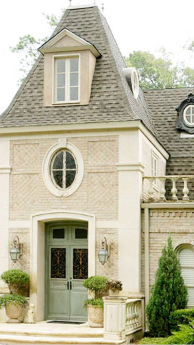 French Country Style Homes Beautiful Houses Pinterest