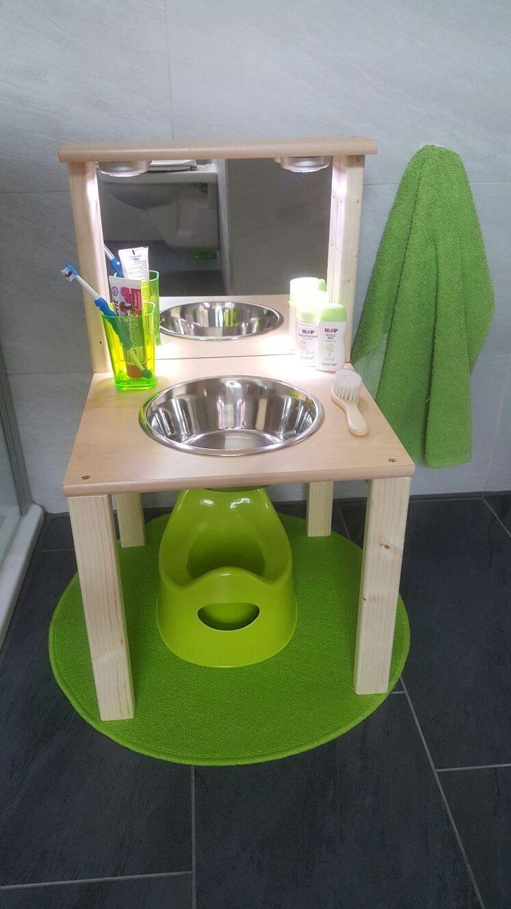 Kinderwaschbecken Badezimmer Kinder Diy Badezimmer Bathroom Diy Kinder Kinderwaschbeck Kinder Badezimmer Kinder Zimmer Ideen Zum Selbermachen Fur Kinder