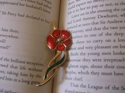 Scarlet Pimpernel Pin!