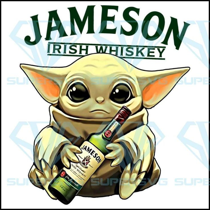 Jameson Irish Whiskey SVG, DXF, EPS, PNG Instant Download