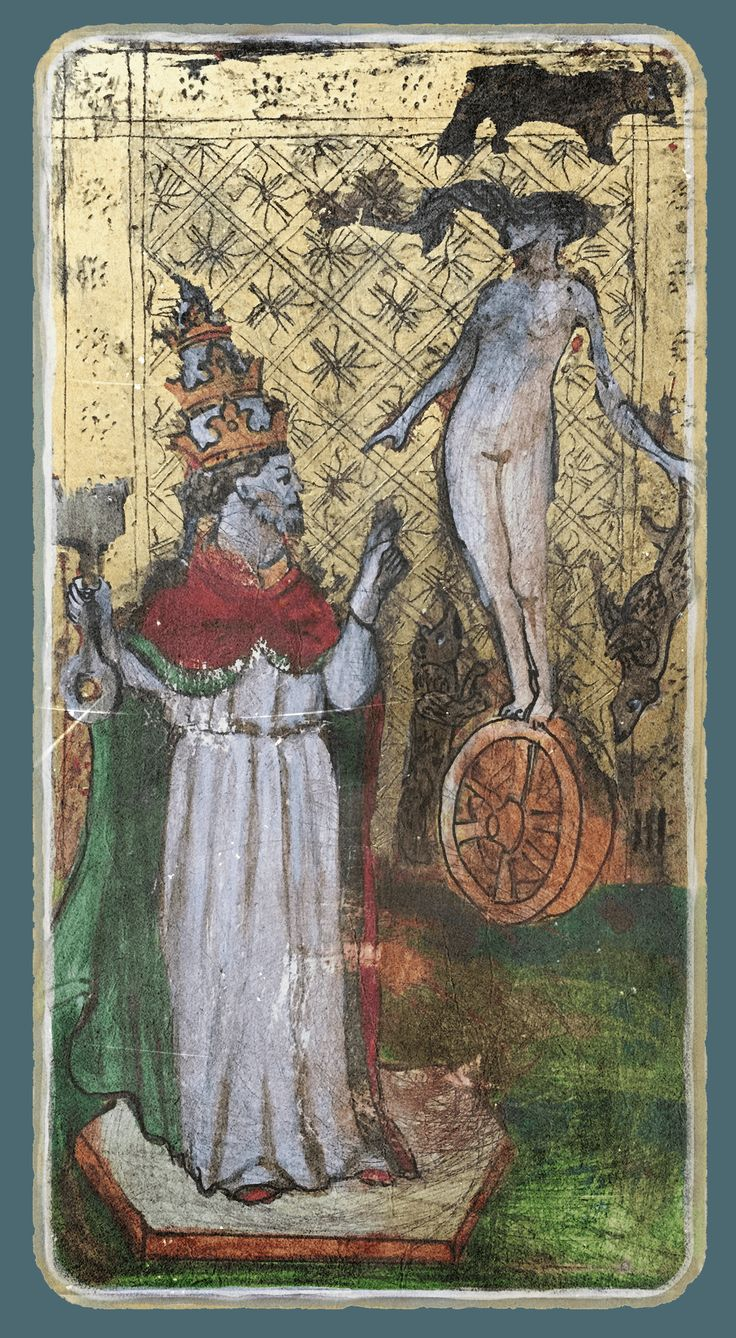 The Pope - Tarot card from the book Constant Guests by Patricia Nedelea #Tarot #Pope #book