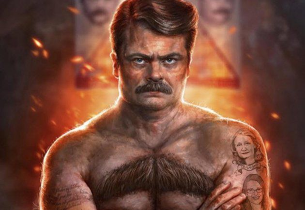 Image result for ron swanson costume