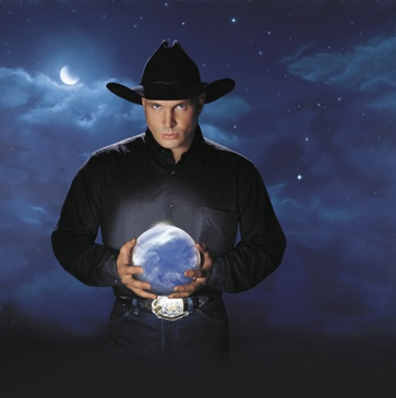 Garth Brooks-Gotta love him, wish he'd come back!