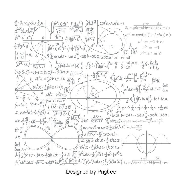 A Formula Matematica Notas Flutuantes Flutuante Vector A