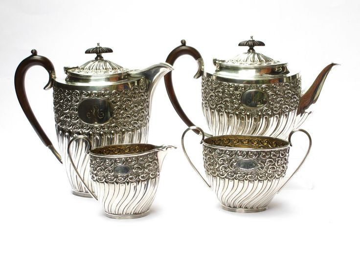 94 best Antique Silver Plate Tableware images on Pinterest ...