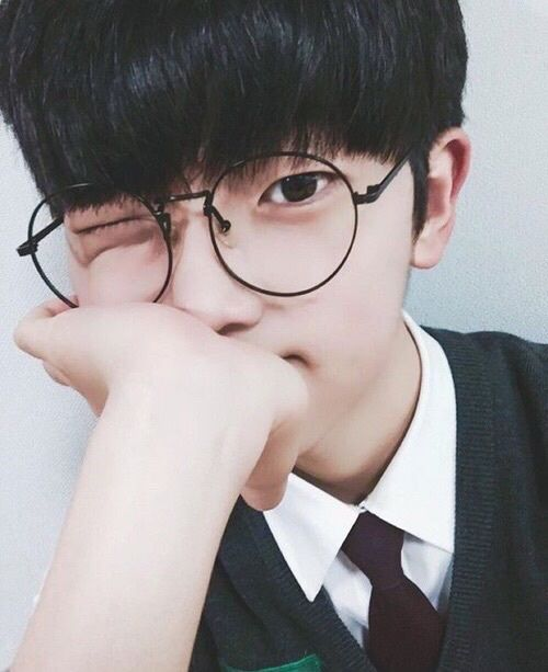 Ulzzang boy glasses Korean Fashion