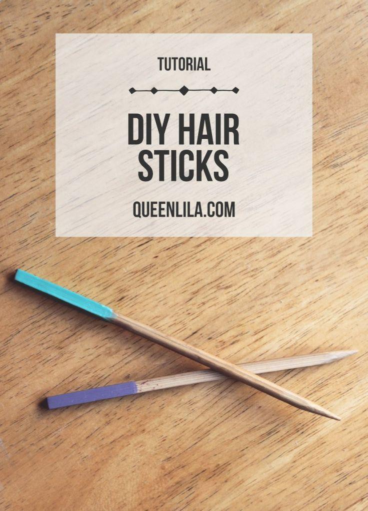 chopstick hair ideas