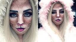 Resultado de imagen para imagenes de maquillaje de gatita para niñas