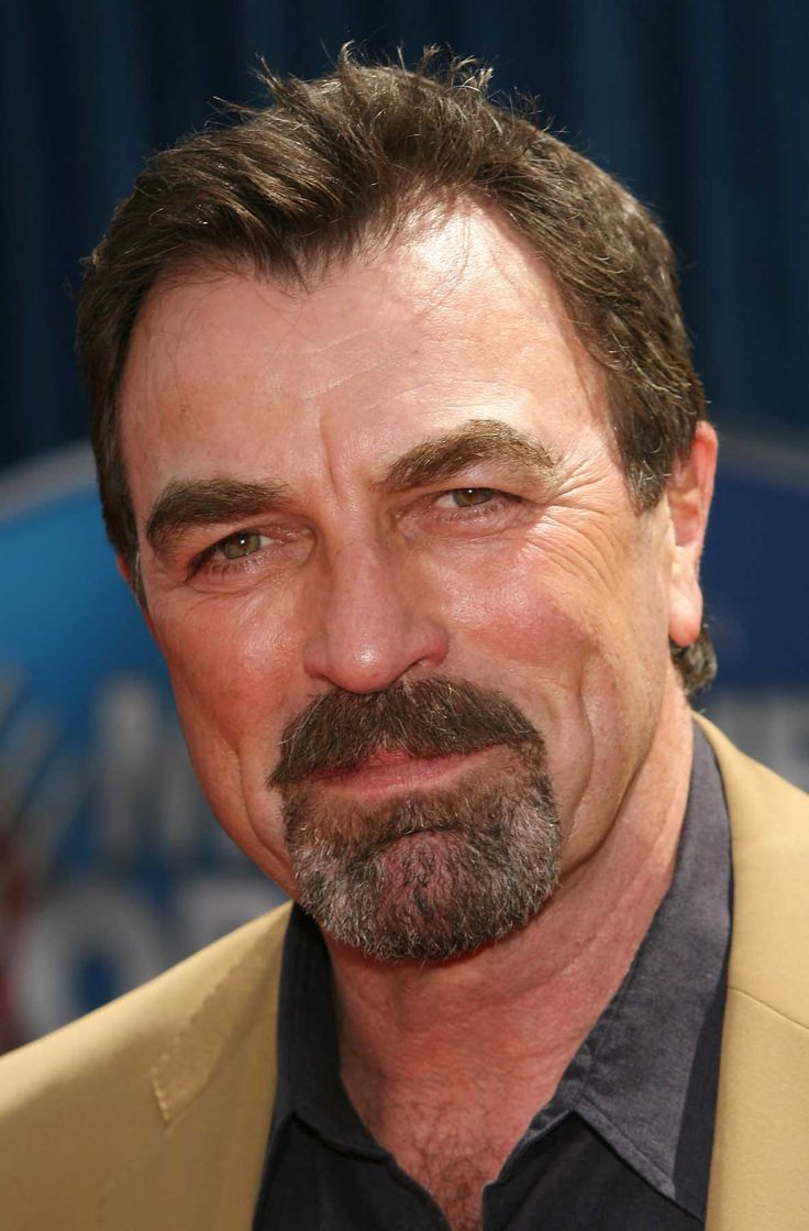 TOM SELLECK ~ very manly guy ~ handsome through he decades
