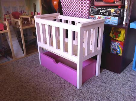 $6 DIY Baby Doll Bed
