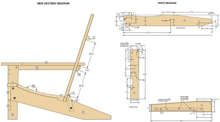 designer adirondack chairs