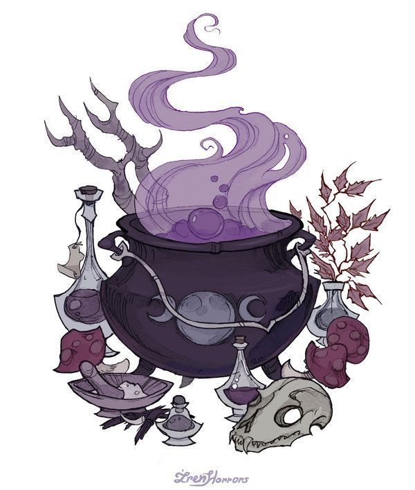 "namelessalice: "" Witchcraft by IrenHorrors """