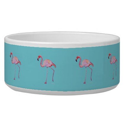 Pink Flamingo Bowl - pink gifts style ideas cyo unique