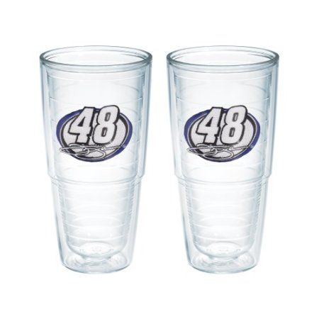 Amazon.com: Tervis Nascar Jimmie Johnson 2-Pack No.48 Tumbler, 24-Ounce: Kitchen & Dining