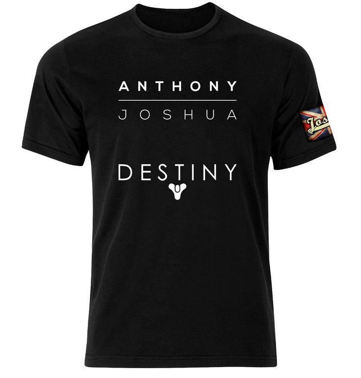 >> Click to Buy << Gildan Anthony Joshua Destiny T Shirt - IBF heavyweight Boxer Tee Shirt - men's t-shirt #Affiliate