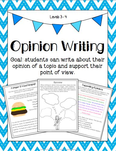 The goal of these lesson ideas is that students will be able to write about their opinion of a topic and support their point of view. Perfect for third grade opinion writing.