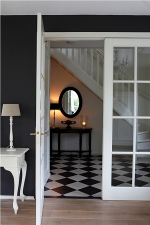 43 best images about hal on pinterest entry ways hallway flooring and entryway for Hal ingang