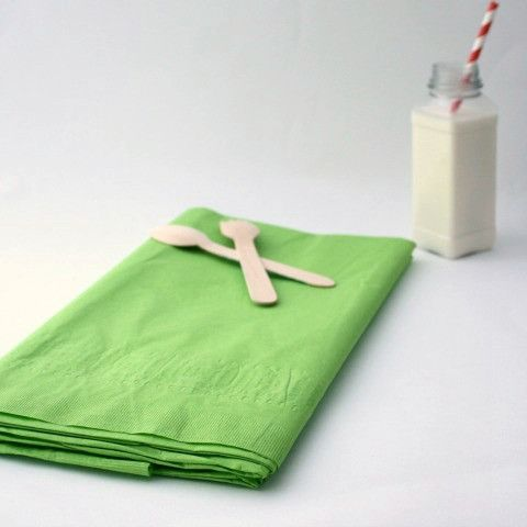 Large Lime Green Paper Tablecloth from Pretty Little Party Shop