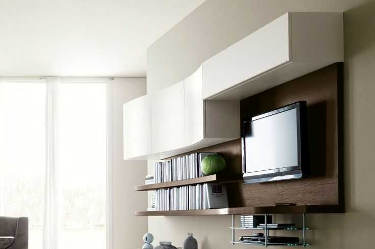 17 migliori idee su parete tv moderna su pinterest - Parete tv moderna ...
