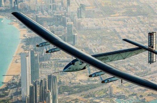 Самолет Solar Impulse без топлива впервые совершил кругосветку (ВИДЕО)