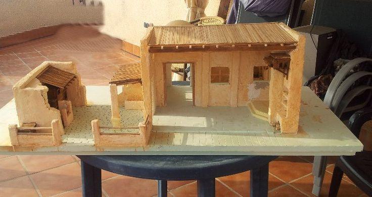 Foro de belenismo proyectos en desarrollo casas para - Construcciones de casas ...