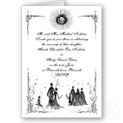 Pagan Wedding Invite Cards From Zazzle